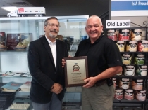 September 2018 AFDR District Sales Representative Hall of Fame Award Goes to IWC Food Service DSR David Anderson